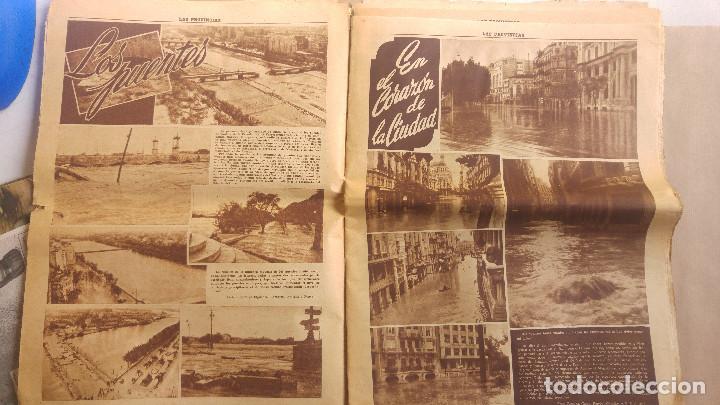Coleccionismo de Revistas y Periódicos: LAS PROVINCIAS - Número 14 de octubre de 1957 , riada de Valencia. MUCHAS FOTOGRAFIAS - Foto 3 - 153237806