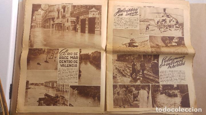 Coleccionismo de Revistas y Periódicos: LAS PROVINCIAS - Número 14 de octubre de 1957 , riada de Valencia. MUCHAS FOTOGRAFIAS - Foto 4 - 153237806