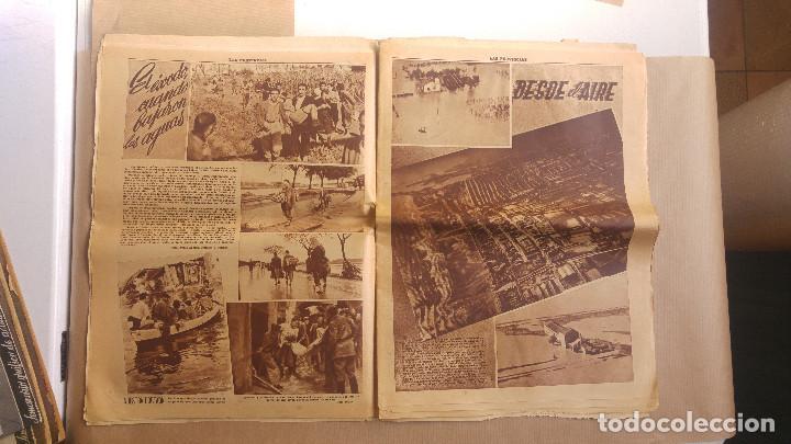 Coleccionismo de Revistas y Periódicos: LAS PROVINCIAS - Número 14 de octubre de 1957 , riada de Valencia. MUCHAS FOTOGRAFIAS - Foto 6 - 153237806