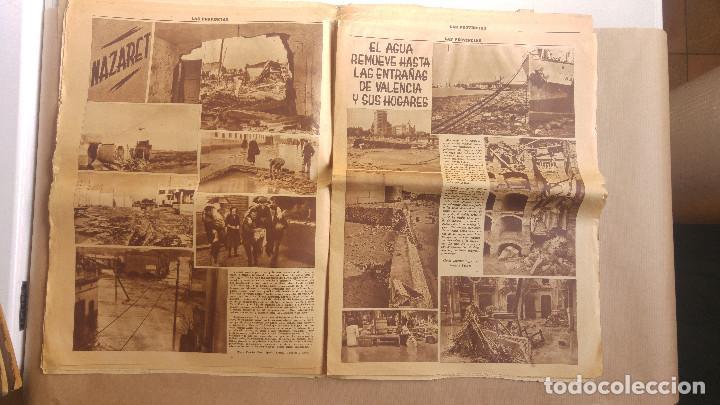 Coleccionismo de Revistas y Periódicos: LAS PROVINCIAS - Número 14 de octubre de 1957 , riada de Valencia. MUCHAS FOTOGRAFIAS - Foto 8 - 153237806