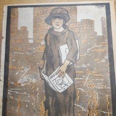 Coleccionismo de Revistas y Periódicos: CHIQUILIN, REVISTA DE LA VIDA INFANTIL Nº 30, 27 JULIO 1924. CUBIERTA DE PENAGOS.. Lote 153238666