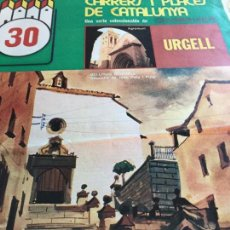 Coleccionismo de Revistas y Periódicos: CARRERS I PLACES Nº30 1975 URGELL BELLPUIG-TARREGA-VALLBONA-AGRAMUNT. Lote 153266386