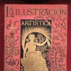 Coleccionismo de Revistas y Periódicos: LA ILUSTRACIÓN ARTÍSTICA, TOMÓ IX, SEGUNDO SEMESTRE DE 1890, MONTANER Y SIMON. Lote 153318040