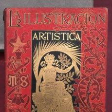 Coleccionismo de Revistas y Periódicos: LA ILUSTRACIÓN ARTÍSTICA, TOMÓ X, AÑO 1890, MONTANER Y SIMON. Lote 153319469
