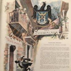 Coleccionismo de Revistas y Periódicos: LA ILUSTRACIÓN ARTÍSTICA, 1900 AÑO COMPLETO, MONTANER Y SIMON. Lote 153323369