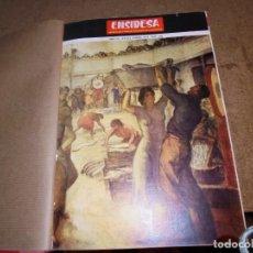 Coleccionismo de Revistas y Periódicos: ENSIDESA AVILES TOMO CON EL AÑO COMPLETO DE 1973.AÑO XV DEL Nº 169 AL 180. Lote 153389154