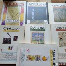 Coleccionismo de Revistas y Periódicos: CANELOBRE - Nº 1 AL Nº 8 . Lote 153445690