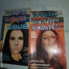 Coleccionismo de Revistas y Periódicos: VANIDADES . (LOTE 6 REVISTAS). Lote 153491966
