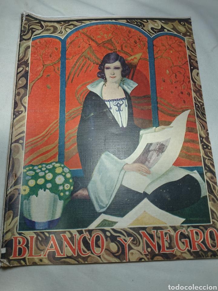 BLANCO Y NEGRO 1924, N° 1740 (Coleccionismo - Revistas y Periódicos Antiguos (hasta 1.939))