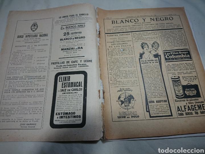 Coleccionismo de Revistas y Periódicos: Blanco y Negro 1924, N° 1740 - Foto 2 - 153501704