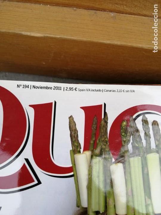 Coleccionismo de Revistas y Periódicos: REVISTA QUO Nº 194 NOVIEMBRE 2011 - Foto 2 - 153595462