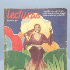 Coleccionismo de Revistas y Periódicos: REVISTA. LECTURAS. 1932. Nº129. Lote 153718222