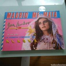 Coleccionismo de Revistas y Periódicos: MADRID ME MATA - Nº 8 / LA PRIMERA COMUNION DE ALASKA. Lote 153785774