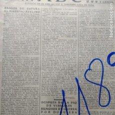 Coleccionismo de Revistas y Periódicos: WENCESLAO FERNANDEZ FLOREZ. SINESIO DELGADO. SERVIUS. ANTONIO ROYO VILLANOVA. 1920.. Lote 153841310