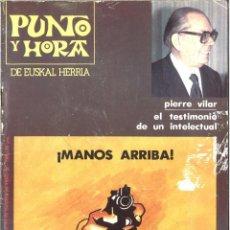 Coleccionismo de Revistas y Periódicos: PUNTO Y HORA DE EUSKAL HERRIA. 198. OCTUBRE 1980. Lote 153855510