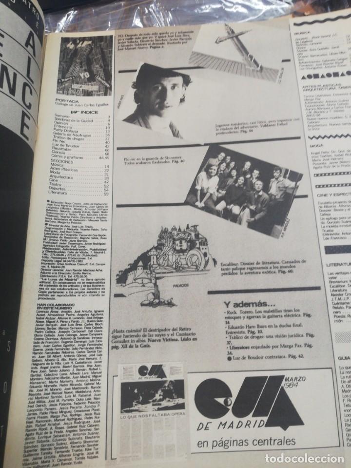 Coleccionismo de Revistas y Periódicos: La luna de Madrid. N. 5 - Foto 3 - 153949738