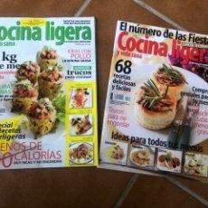 Coleccionismo de Revistas y Periódicos: REVISTA COCINA LIGERA. NÚMEROS 160 Y 161. Lote 153981432