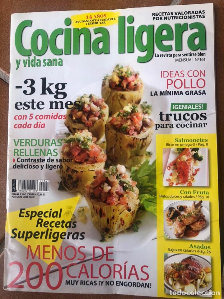 Coleccionismo de Revistas y Periódicos: REVISTA COCINA LIGERA. NÚMEROS 160 y 161 - Foto 3 - 153981432