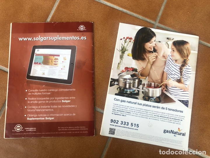 Coleccionismo de Revistas y Periódicos: REVISTA COCINA LIGERA. NÚMEROS 160 y 161 - Foto 5 - 153981432