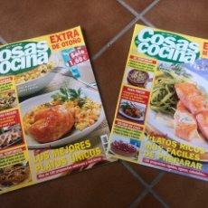 Coleccionismo de Revistas y Periódicos: LOTE REVISTA COSAS DE COCINA. NÚMEROS EXTRA. Lote 154043761