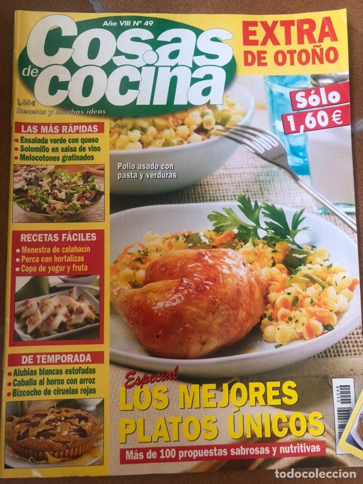 Coleccionismo de Revistas y Periódicos: LOTE REVISTA COSAS DE COCINA. NÚMEROS EXTRA - Foto 2 - 154043761