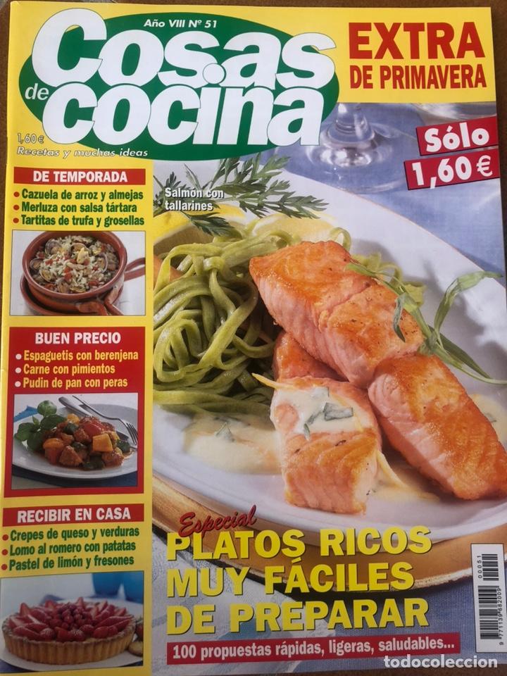 Coleccionismo de Revistas y Periódicos: LOTE REVISTA COSAS DE COCINA. NÚMEROS EXTRA - Foto 3 - 154043761