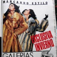 Coleccionismo de Revistas y Periódicos: ANUNCIO GALERIAS PRECIADOS . Lote 154048330