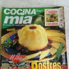 Coleccionismo de Revistas y Periódicos: COCINA MIA REVISTA Nº 31 EXTRA VERANO 1997. POSTRES, ENSALADAS, MENÚS PARA COMBINAR..... . Lote 154195830
