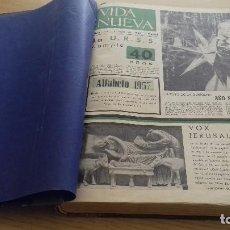 Coleccionismo de Revistas y Periódicos: VIDA NUEVA DEL Nº 118 AL Nº 141-TODO EL AÑO 1958- ENCUADERNADO- PERIODISMO EPOCA. Lote 154250834