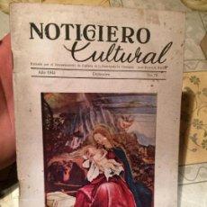 Coleccionismo de Revistas y Periódicos: NOTICIERO CULTURAL, EDITADO POR EL DEPARTAMENTO DE CULTURA DE LA EMBAJADA ALEMANA, 1944 NUMERO 70. Lote 154348730