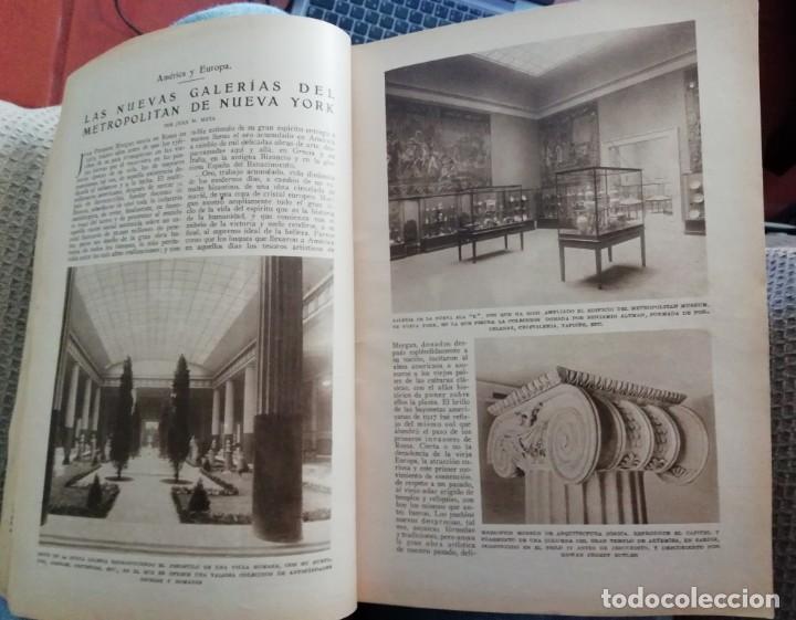Coleccionismo de Revistas y Periódicos: Blanco y Negro - 6 revistas, años 1926 y 1927, en tomo - Foto 3 - 154349890