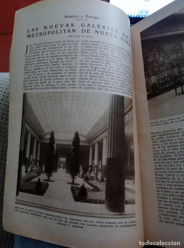 Coleccionismo de Revistas y Periódicos: Blanco y Negro - 6 revistas, años 1926 y 1927, en tomo - Foto 5 - 154349890