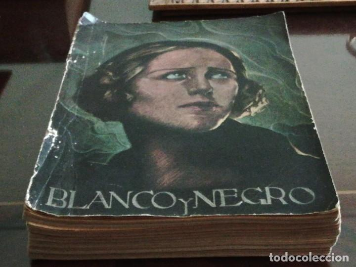 Coleccionismo de Revistas y Periódicos: Blanco y Negro - 6 revistas, años 1926 y 1927, en tomo - Foto 6 - 154349890