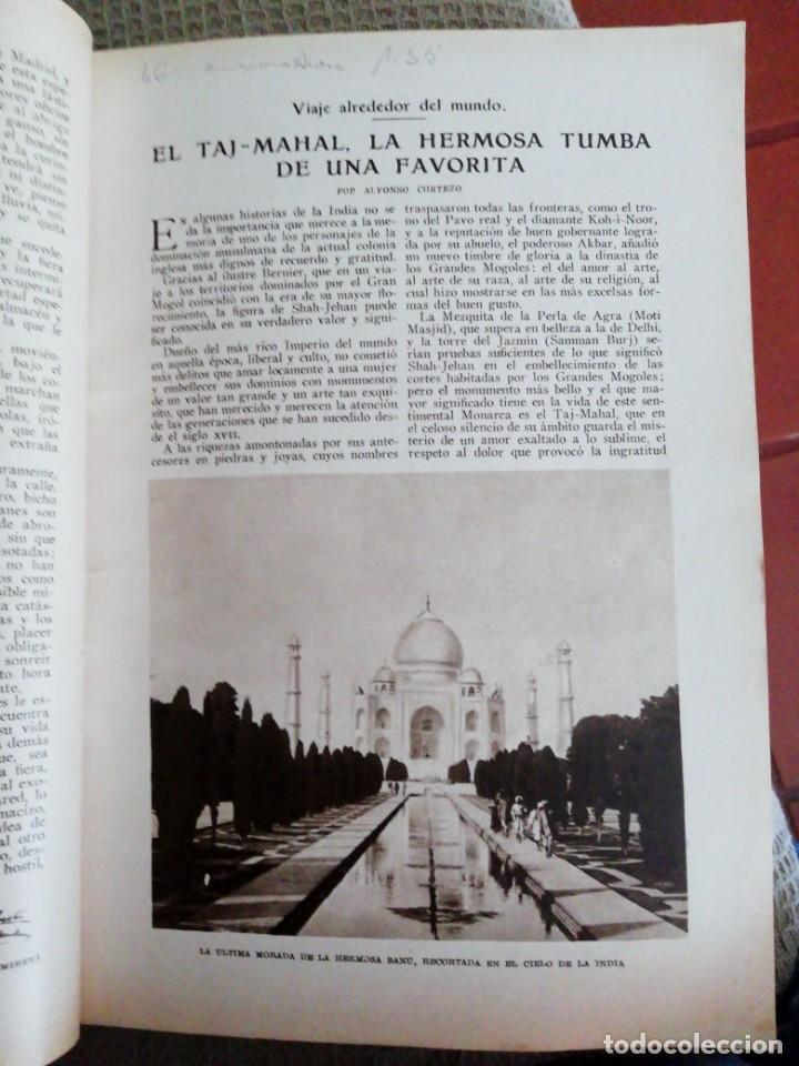 Coleccionismo de Revistas y Periódicos: Blanco y Negro - 6 revistas, años 1926 y 1927, en tomo - Foto 7 - 154349890