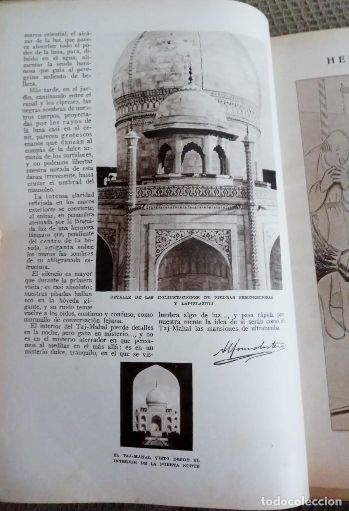 Coleccionismo de Revistas y Periódicos: Blanco y Negro - 6 revistas, años 1926 y 1927, en tomo - Foto 8 - 154349890