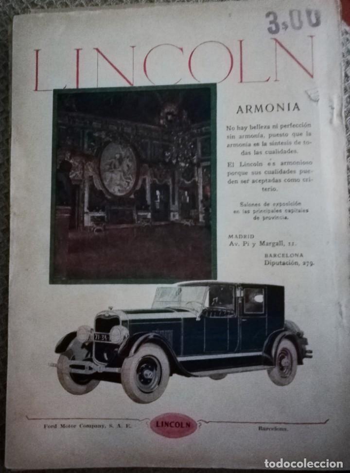 Coleccionismo de Revistas y Periódicos: Blanco y Negro - 6 revistas, años 1926 y 1927, en tomo - Foto 9 - 154349890