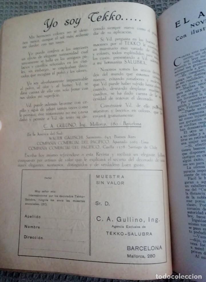 Coleccionismo de Revistas y Periódicos: Blanco y Negro - 6 revistas, años 1926 y 1927, en tomo - Foto 12 - 154349890