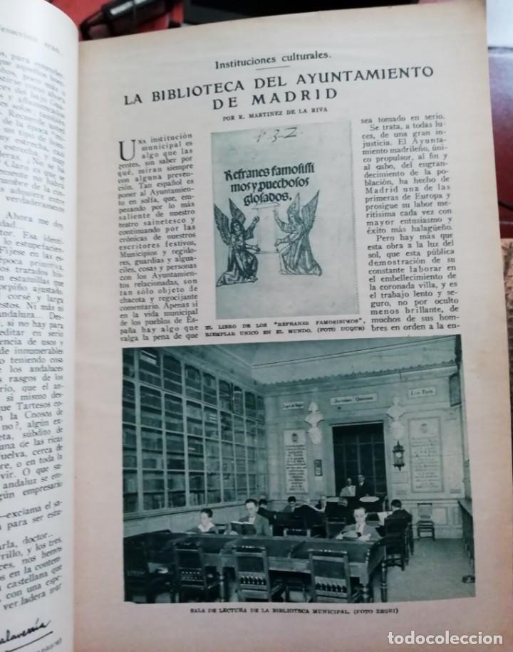 Coleccionismo de Revistas y Periódicos: Blanco y Negro - 6 revistas, años 1926 y 1927, en tomo - Foto 16 - 154349890