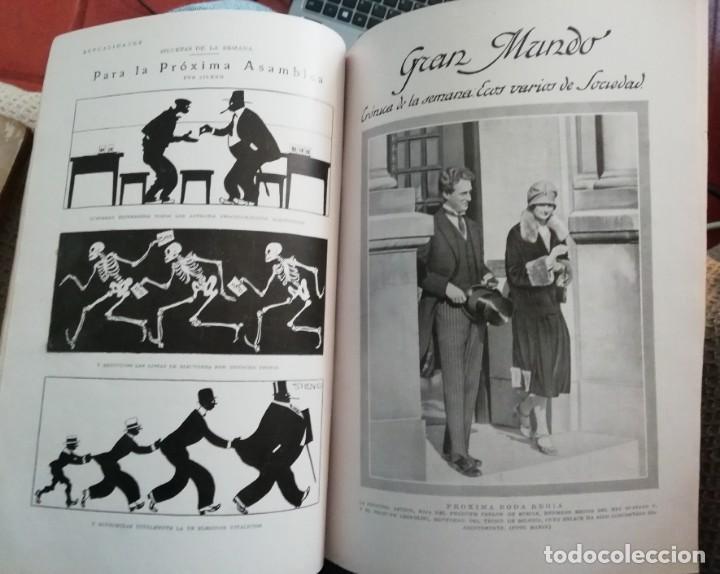 Coleccionismo de Revistas y Periódicos: Blanco y Negro - 6 revistas, años 1926 y 1927, en tomo - Foto 17 - 154349890