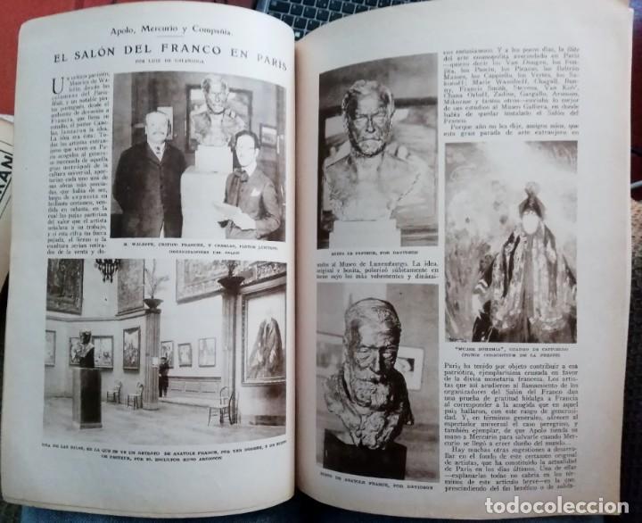 Coleccionismo de Revistas y Periódicos: Blanco y Negro - 6 revistas, años 1926 y 1927, en tomo - Foto 19 - 154349890