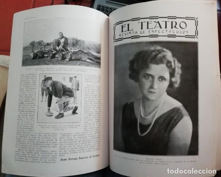 Coleccionismo de Revistas y Periódicos: Blanco y Negro - 6 revistas, años 1926 y 1927, en tomo - Foto 22 - 154349890