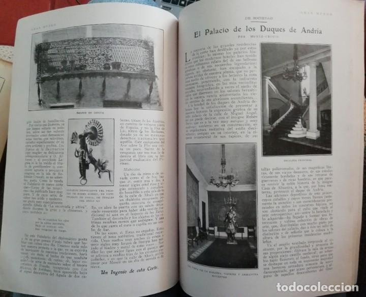Coleccionismo de Revistas y Periódicos: Blanco y Negro - 6 revistas, años 1926 y 1927, en tomo - Foto 23 - 154349890