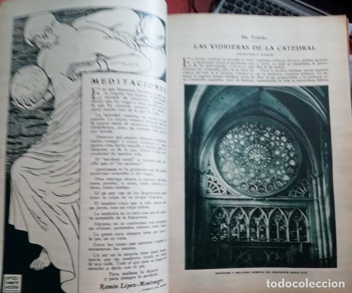 Coleccionismo de Revistas y Periódicos: Blanco y Negro - 6 revistas, años 1926 y 1927, en tomo - Foto 30 - 154349890