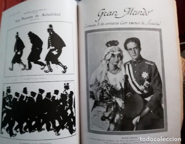 Coleccionismo de Revistas y Periódicos: Blanco y Negro - 6 revistas, años 1926 y 1927, en tomo - Foto 35 - 154349890