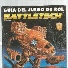 Coleccionismo de Revistas y Periódicos: GUIA JUEGO ROL BATTLETECH. Lote 154380042