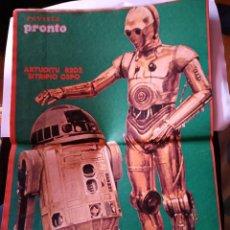 Coleccionismo de Revistas y Periódicos: REVISTA PRONTO 305 MARZO 1978, POSTER STAR WARS LA GUERRA DE LAS GALAXIAS C3P0 R2D2. Lote 154395982