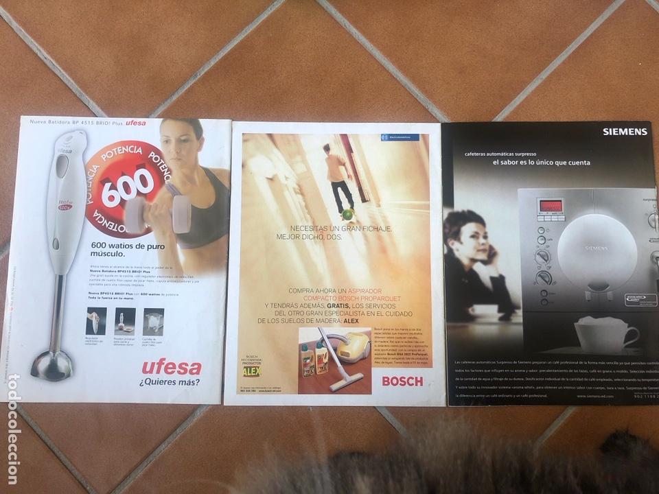 Coleccionismo de Revistas y Periódicos: LOTE DE REVISTAS COSAS DE COCINA NÚMEROS 86,87 y 88 - Foto 5 - 154421070
