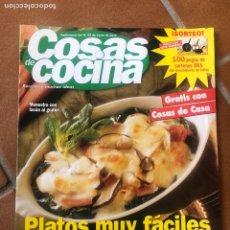 Coleccionismo de Revistas y Periódicos: REVISTA COSAS DE COCINA NÚMERO 93. Lote 154421985