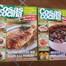 Coleccionismo de Revistas y Periódicos: LOTE DE REVISTAS COSAS DE COCINA NÚMEROS 97 Y 98. Lote 154422444