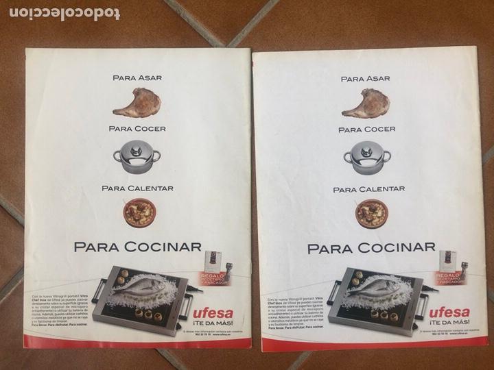 Coleccionismo de Revistas y Periódicos: LOTE DE REVISTAS COSAS DE COCINA NÚMEROS 97 y 98 - Foto 2 - 154422444
